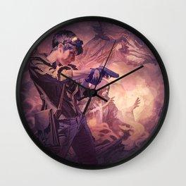 Dragons of Dorcastle Wall Clock