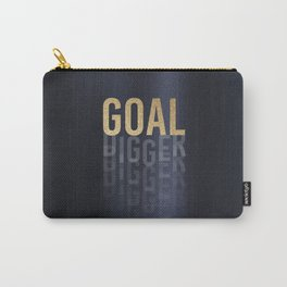Goal Digger - Gold on Black Carry-All Pouch