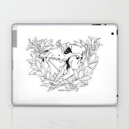 Death & Victory (Lineart) Laptop & iPad Skin