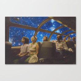 Space Holiday Canvas Print