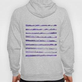 Ultraviolet brush strokes Hoody