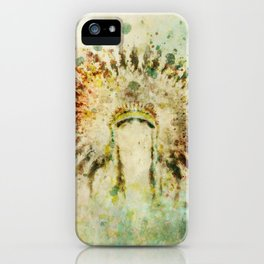 BOHO Headdress iPhone Case