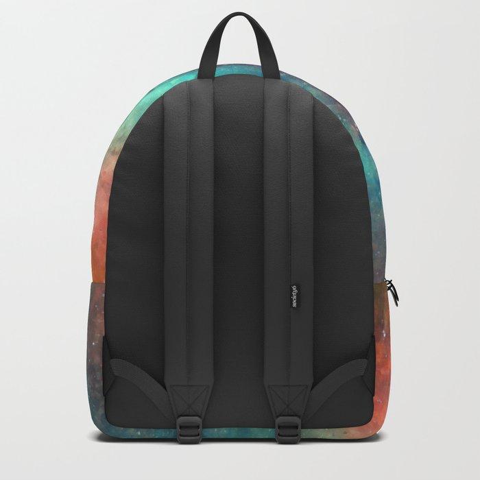 Colorful Nebula Galaxy Backpack
