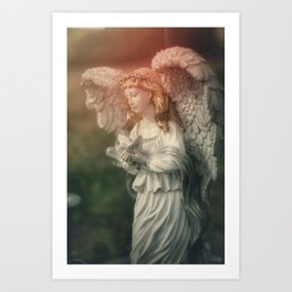 Healing Angel Art Print