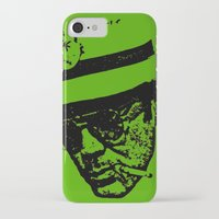 hunter s thompson iPhone & iPod Cases featuring Outlaws of Literature (Hunter S. Thompson) by Silvio Ledbetter