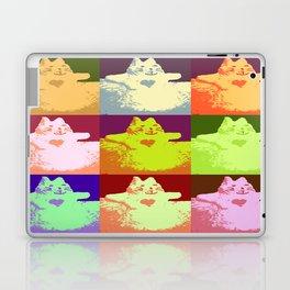 Pop Art Snow Kitty Laptop & iPad Skin