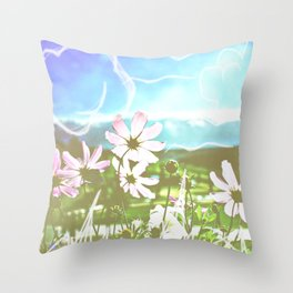 Colorado Sketches Throw Pillow