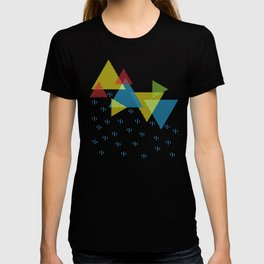 Triangular rains T-shirt