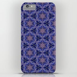 Starry Blue Pattern iPhone Case