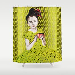 Tea and sympathy Shower Curtain