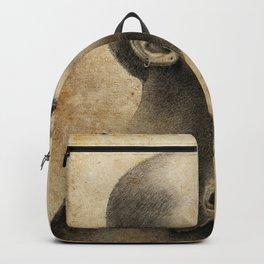 Bald Lady - 3 Backpack