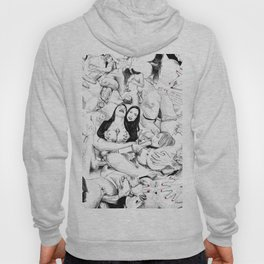 sex collage Hoody