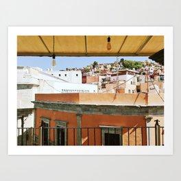 Guanajuato City, Mexico Art Print