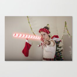 Scavenger Christmas Cosplay 5 Canvas Print