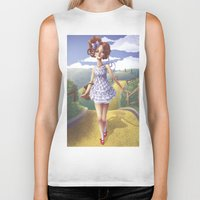 dorothy Biker Tanks featuring Dorothy by FReMO