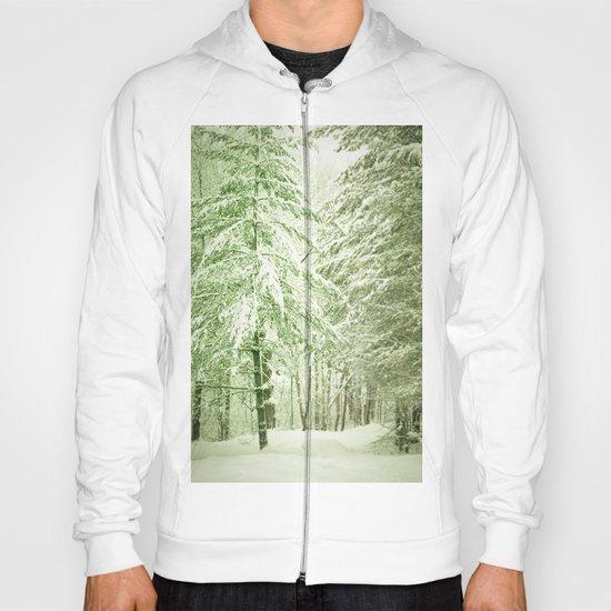 Winter Pine Trees Hoody