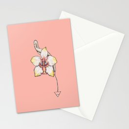 Earth Orchid Stationery Cards