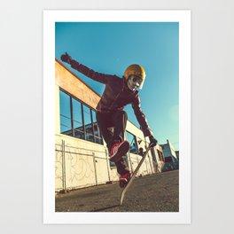 Frank Aberdean / Skate or Die IV Art Print