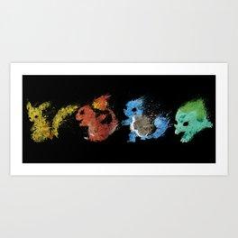 Starters v.2 Art Print
