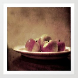 Lady Apples Art Print