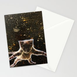 Kitten. In. Space. Stationery Cards