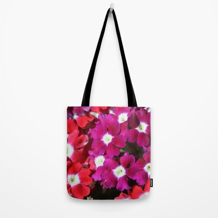 verbena flowers Tote Bag