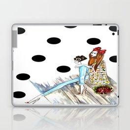 Dots & bow Laptop & iPad Skin