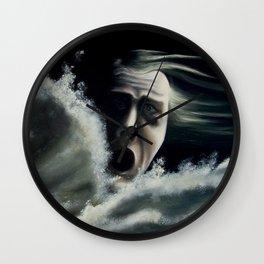 Man overboard Wall Clock
