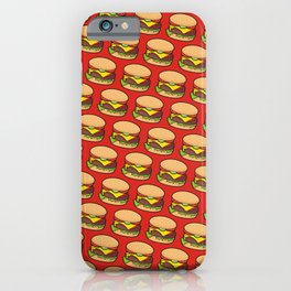 Cheeseburger iPhone Case