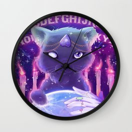 Oracle Cat Wall Clock
