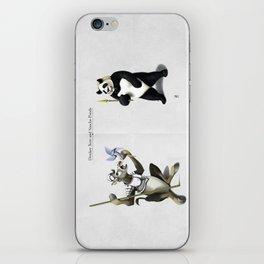 Donkey Xote and Sancho Panda iPhone Skin