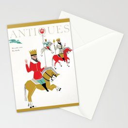 The Magazine ANTIQUES December 1959 cover Stationery Cards