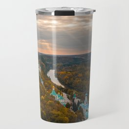 Holy Mountains Monastery (Ukraine) Travel Mug