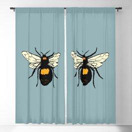 Bumblebee vector Blackout Curtain