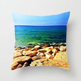 Ocean's Delight Throw Pillow