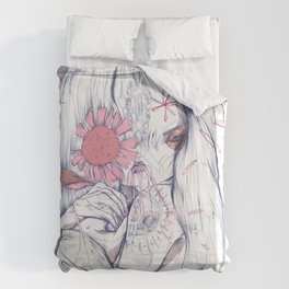 Often times I wish for Kindness to fine-tune my life Duvet Cover