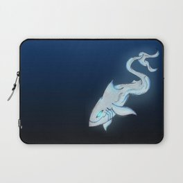 Great White Ghost Laptop Sleeve