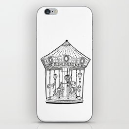 The Carousel - Circus fun #1 iPhone Skin