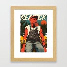 Seasick Steve Framed Art Print