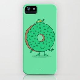 The St Patricks Day Donut iPhone Case