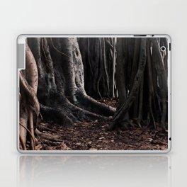 Spooky Winter Trees Laptop & iPad Skin