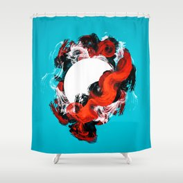 In Circle - I Shower Curtain