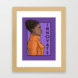 Innovate Framed Art Print