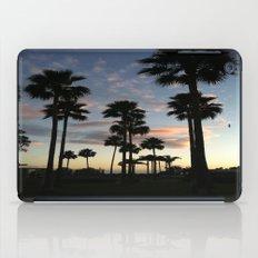 santa barbara sky iPad Case