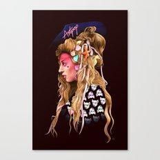 Neon Artpop Canvas Print