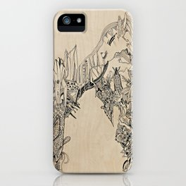 Barbarian City iPhone Case