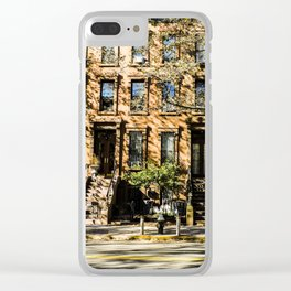 Stoop Kid finally left his stoop. Clear iPhone Case
