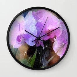 Orchideen II Wall Clock