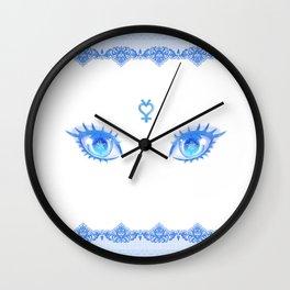 Sailor Mercury Eyes Wall Clock