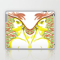 summer girl 1 Laptop & iPad Skin